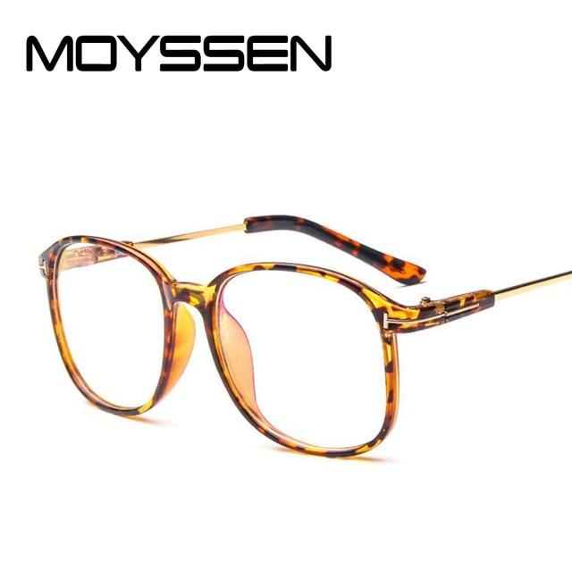 Online Shop MOYSSEN Fashion Men\'s Vintage Transparent Frame ...