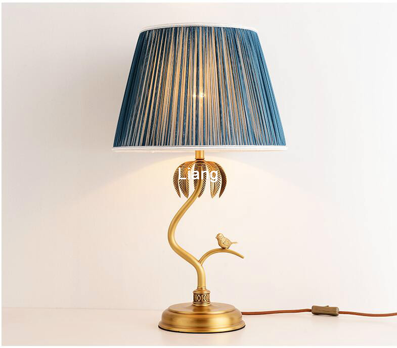 Agressief Europese Moderne Koperen Tafellamp Luxe Kristal Tafellamp Europese Stijl Slaapkamer Bedlampje Verlichtingsarmatuur Lamp 100% Gegarandeerd