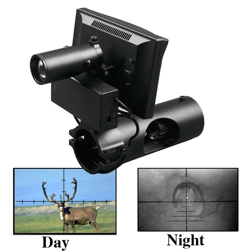 Portée nocturne infrarouge numérique de chasse 200 M nouvelle lunette de Vision nocturne de troisième génération lunette de visée de jour et de nuit - 2