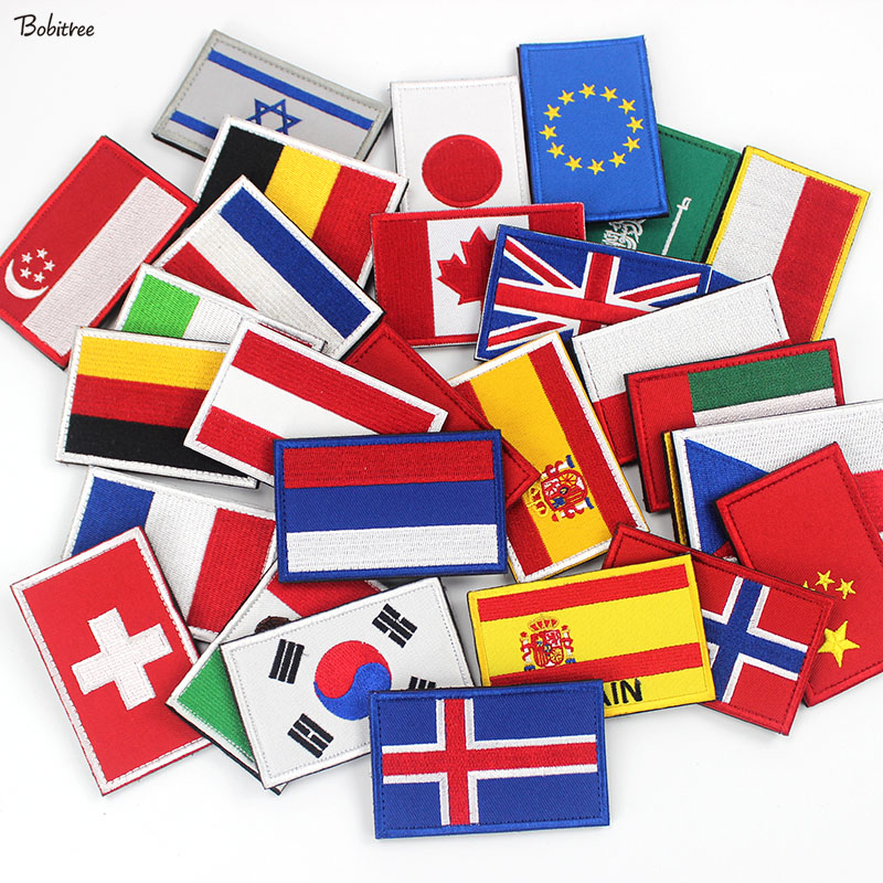 Detail Feedback Questions about European EU Poland Span France Flags Patch  Badges Tactical Morale Stick on Stickers for Hat Backpack Cloth Decoration  on ... 36dfed62e54