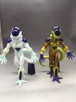 19CM Anime Dragon Ball Z Action Figure Frieza And Gold Frieza PVC Collection Model Toys Dolls