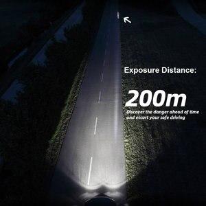 Image 5 - 2PCS רכב פנס מנורת H7 H11 LED H4 H1 H8 HB2 9005 H10 HB3 9006 LED ערפל אור הנורה מנורת אוטומטי פנס COB שבב 36W 6000k 12v