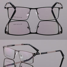 Ультралегкие деловые джентльменские очки с оправой в полный