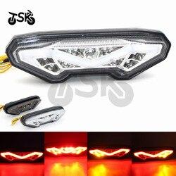 Motocykl tylny kierunkowskaz lampa tylna Stop światła zintegrowane światło hamowania dla YAMAHA FZ - 09 MT09 FZ 09 MT 09 2014 2015 2016