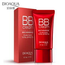 цена BIOAQUA BB Cream Whitening Moisturizing Concealer Nude Foundation Makeup Face Beauty Natural Pore Cover Moisturizing Make-up в интернет-магазинах