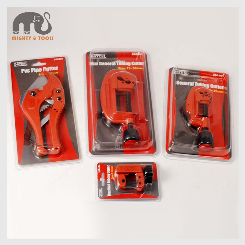X Steel PVC Pipe Vinyl & Soft Metal Tube Tubing Cutter Plumbing Tool 4pc Set