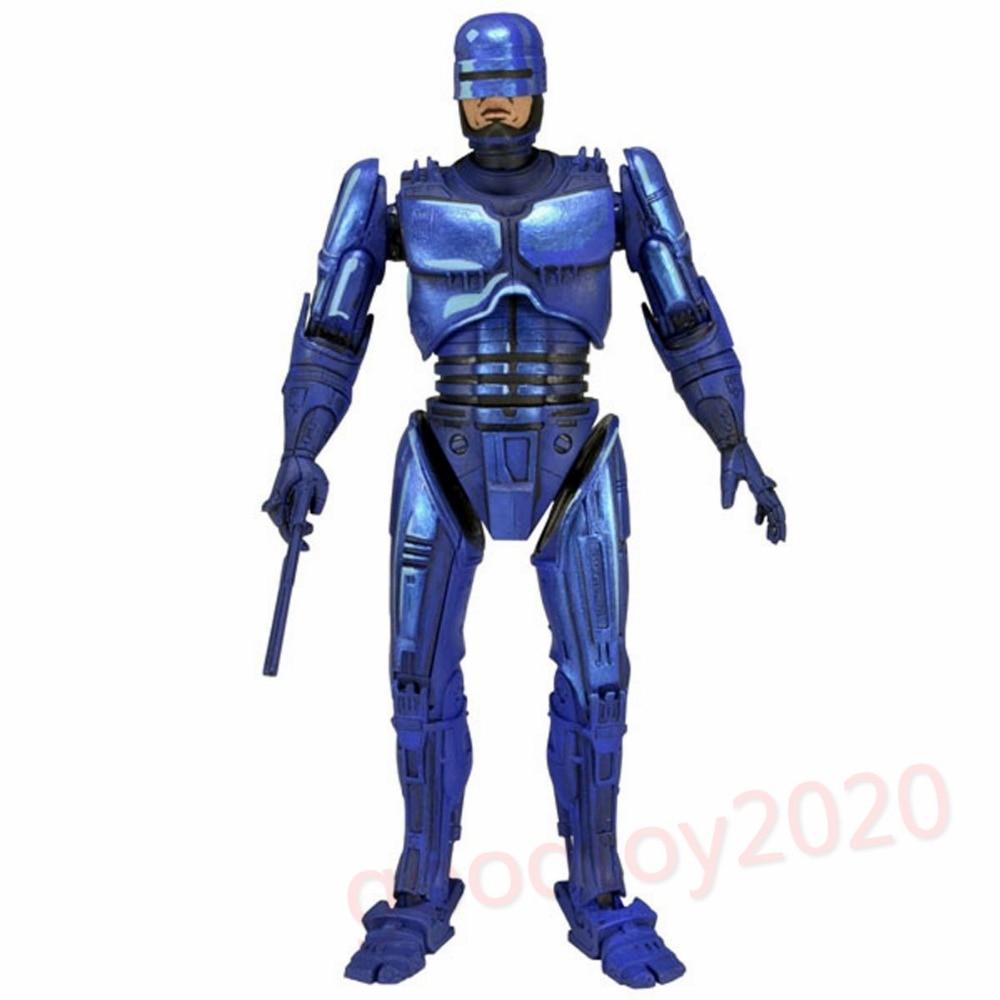 ФОТО Robocop-7'Scale Figure - Robocop Classic Video Game Appearance-NECA NE014002
