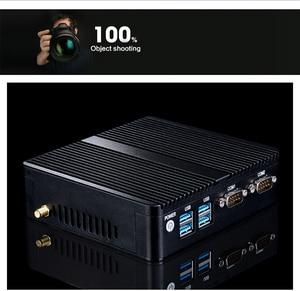 Mini PC 3205U 1.5GHz sim destop 2/4/8G DDR3L Optional MINI laptop KK-3205U cpu can choose 3755u dual lan dual com