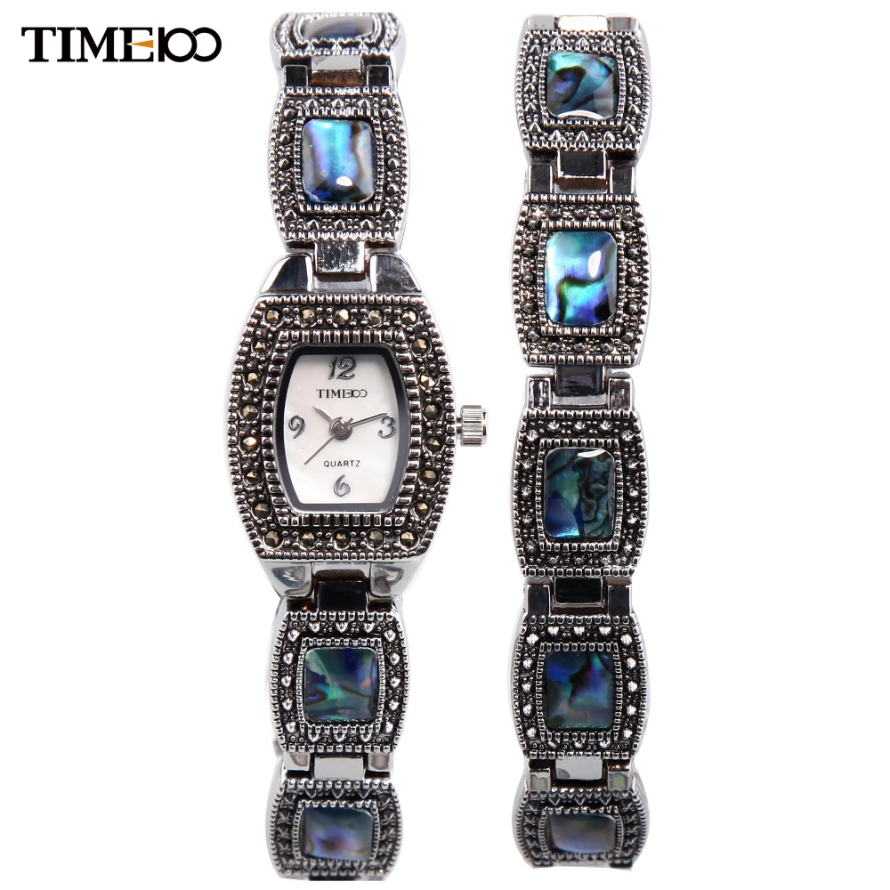 TIME100 Women's Bracelet Watches Analog Display Jewelry Clasp Alloy Abalone shell Dial Casual Dress Wrist Watch relogio feminino tau 0826 dc 6v 12v24v keeping force 16n 20n pull