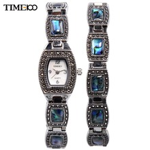 TIME100 Femmes de Bracelet Montres Analogique Affichage Bijoux Fermoir Alliage nacre Cadran Casual Robe Montre-Bracelet relogio feminino