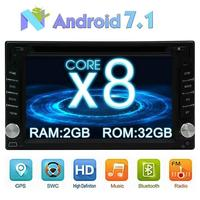 Android 7 1 Car Autoadio DVD 2 DIN Cassette Stereo Bluetooth Supports GPS Navigation USB SD