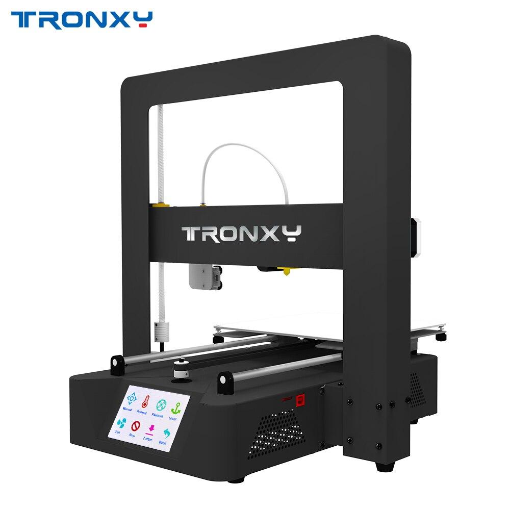 Tronxy 3D Stampante X6A Mega Impresora Kit FAI DA TE Completo di Metallo 3.5 pollici Touch Screen LCD con Focolaio PLA Filamento 8g SD Card come regalo