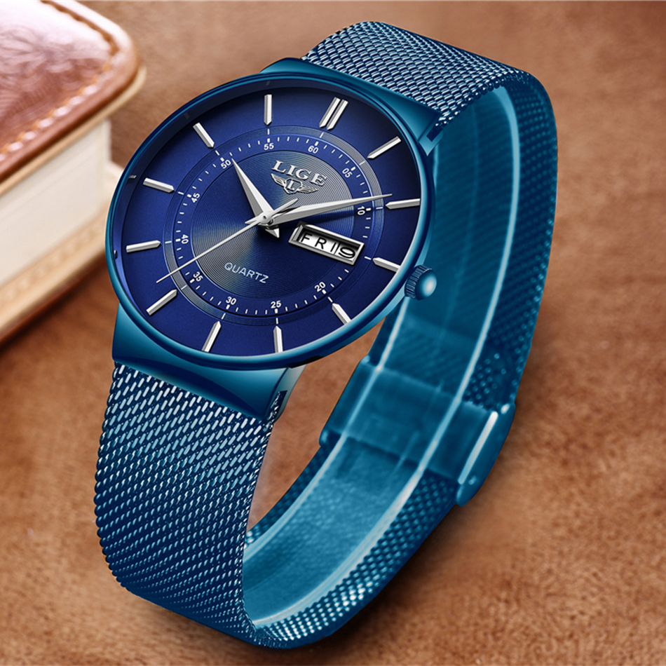 HTB1lysLaRWD3KVjSZFsq6AqkpXa9 Mens Watches LIGE Top Brand Luxury Waterproof Ultra Thin Date Clock Male Steel Strap Casual Quartz Watch Men Sports Wrist Watch