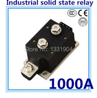 LED indicator DC to AC SSR H1000ZF 1000A SSR relay input DC 3 32V output AC1200V industrial solid state relay
