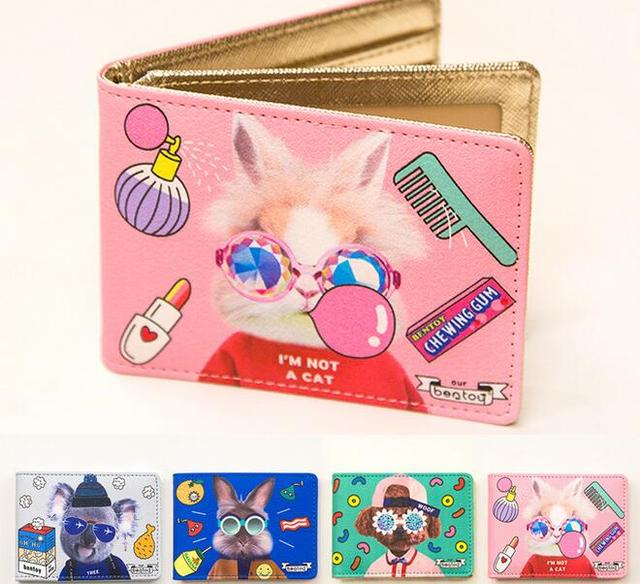 Brand travel credit card holder bentoy driving license cover id brand travel credit card holder bentoy driving license cover id business card holder cute character cards reheart Choice Image