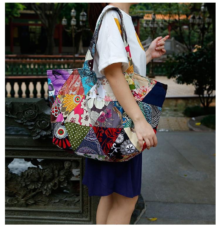 Hippie Shoulder Handbag Bag women (9)