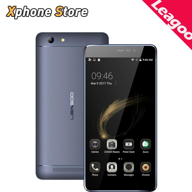 Original Leagoo Shark 5000 Phone 5.5 inch Android 6.0 MTK6580A Quad Core 3G WCDMA Smartphone RAM 1GB ROM 8GB Dual SIM OTG FM