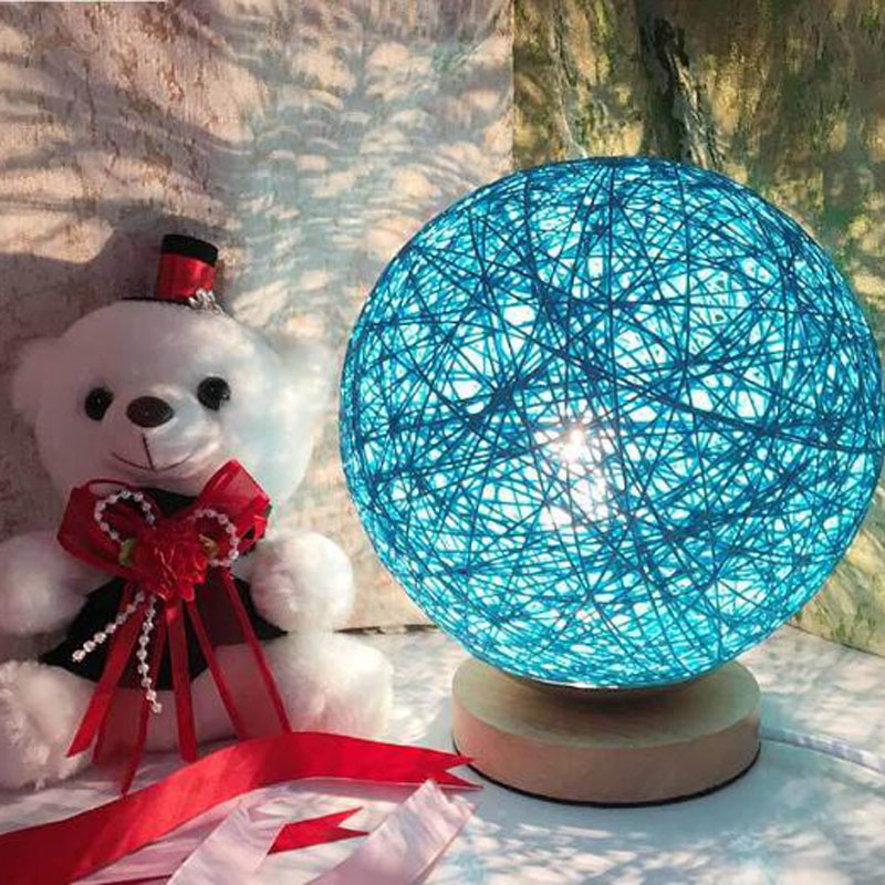 Creative LED night light Romantic round timbo shape light Christmas wedding birthday gift for children friend black friday deals ice hockey creative christmas birthday dream master cartoon children boy gift led wall lamp 3d stick bedroom night light party