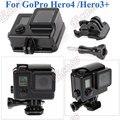 Para GoPro Caja Estanca Caja Apagón GoPro Hero4/Accesorios de Viviendas de Protección Para GoPro Hero3 + 35 M Bajo El Agua (negro)