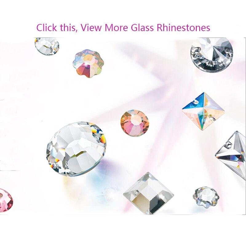 481df97475 US $9.77 10% OFF YANRUO Rivoli Crystal Sewing Rhinestones Sew on Stones  Glass Crystals Light Amethyst-in Rhinestones from Home & Garden on ...