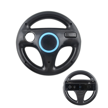 10PCS a lot 5 Colors Racing Steering Wheel For Nintend for Wii M rio Kart Games Remote Controller Console
