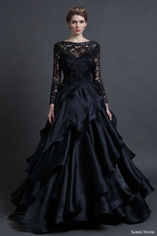 Vintage Black Bridesmaid Dresses