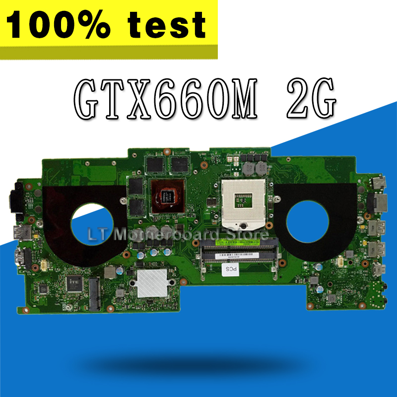 G46VW Motherboard GTX660M 2G s989 cpu For ASUS G46V G46VR Laptop motherboard G46VW Mainboard G46VW Motherboard test 100% OK free shipping g46vw gtx660m n13e ge a2 mainboard rev 2 2 for asus g46v laptop motherboard 60 nmmmb1100 e02 100% tested working