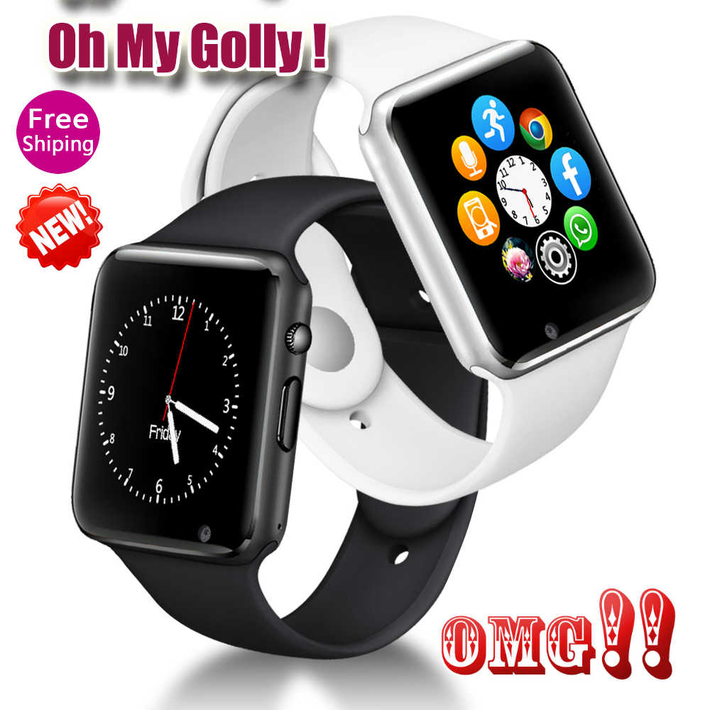 0MG!!!!!!! A1 Smart Watch Men For Android Phone Apple Watch Support 2G Sim TF Card 0.3MP Camera Bluetooth Smartwatch Women Kids