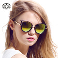 Cat Eyes Women Sun Glasses Metal Frame UV 400 Fashion Designer Sunglasses
