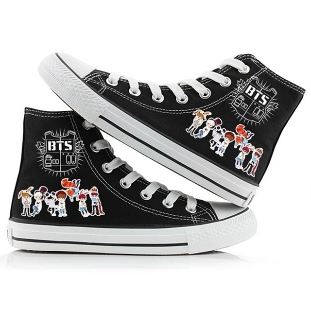 BTS ARMY HIGH TOP SHOES (4 VARIAN)