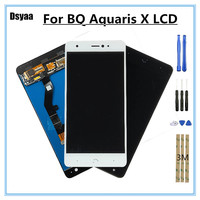 5.2 Inch for BQ Aquaris X LCD Display Touch Screen Digitizer Mobile Phone Parts for BQ Aquaris X Pro Screen LCD
