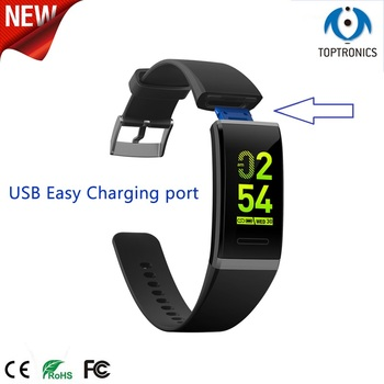 New V11 Smart Bracelet Female Period Remind Colorful Bracelet Blood Pressure Monitor Band Fitness Tracker With Gift Box