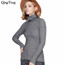 2018 New Pullover Sweater Women's Autumn Winter Cashmere Jumpers Slim Warm Knitwear Casual Knitted Sweaters Geometric Pattern