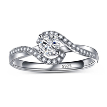 Engagement Bague Classic vintage wedding rings for women cz diamonds jewelry accessories MSR088