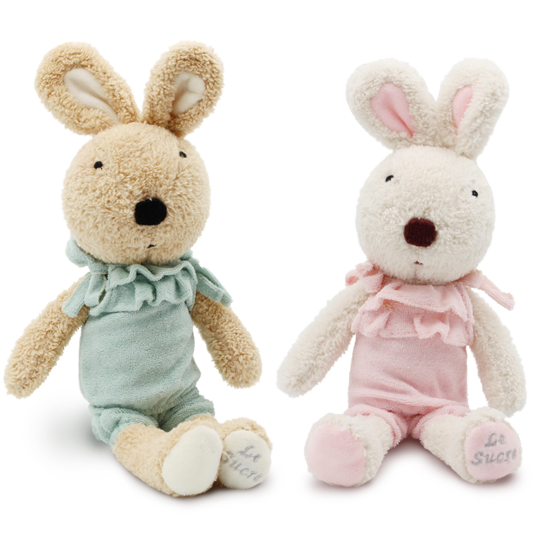 le sucre 60cm bunny plush kids toys clothes can be take off rabbit dolls le sucre wearing dress 30cm kawaii rabbit plush toys bunny stuffed dolls kids toys gifts clothes can be take off