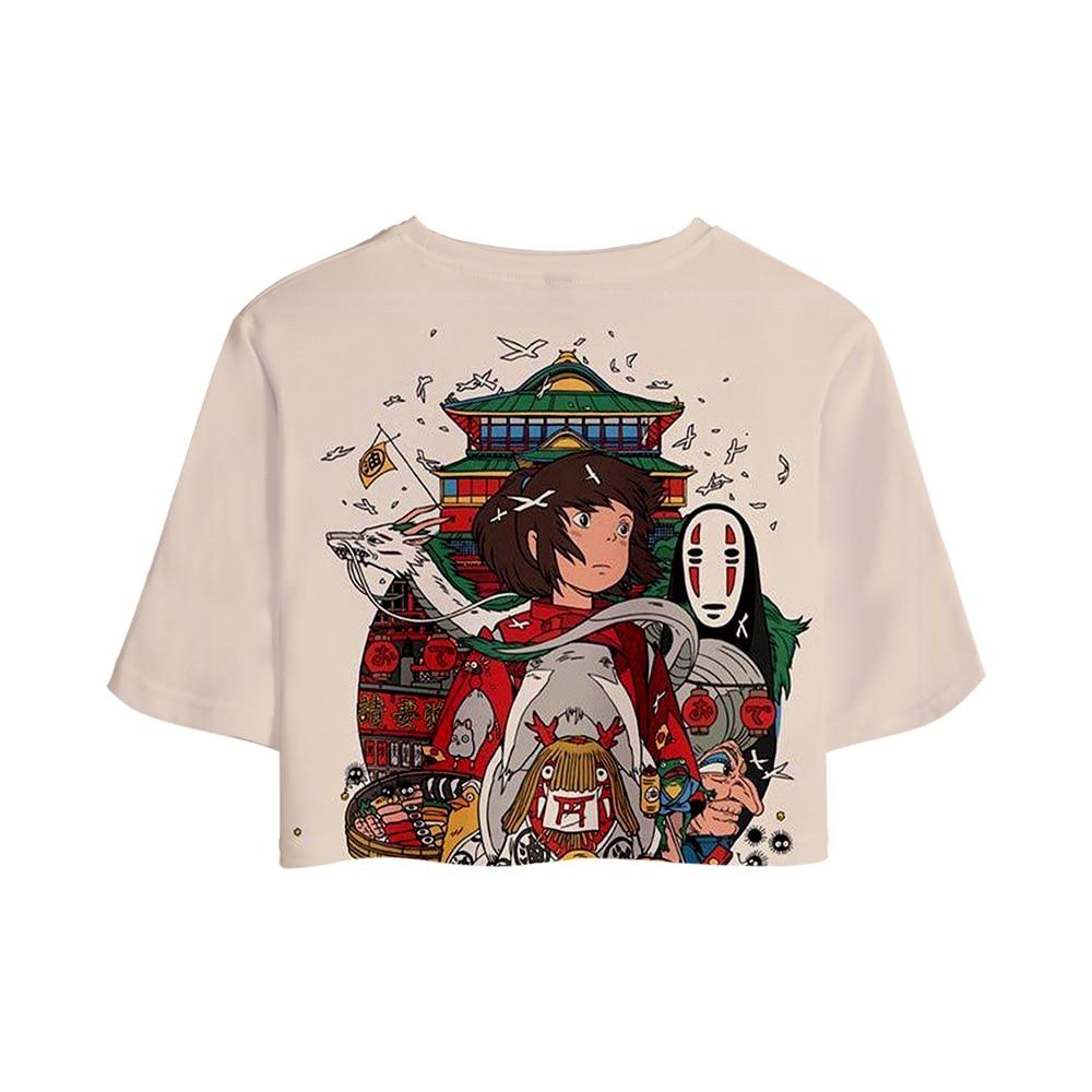 Hayao Miyazaki Spirited Away Cool Design T-Shirts 1