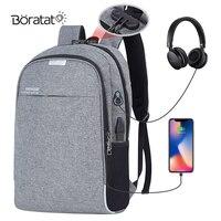 46cm Multifunctional Sport Bag USB Charging Training Gym Bag Travel Fitness Nylon Handbags Computer Backpack
