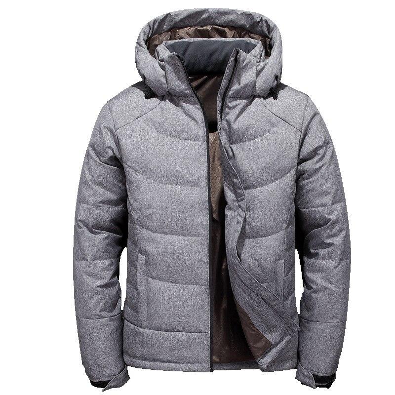 2018 Moda Maschile Caldo In Inverno Slim Fit Di Alta Qualità Con Cappuccio In Cotone-imbottito Vestiti/puro Degli Uomini Colore Giubbotti Belle Arti