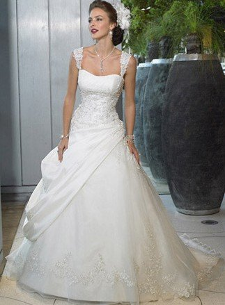 Free Shipping Best Ing Designer A Line Wedding Dresses Any Size Color
