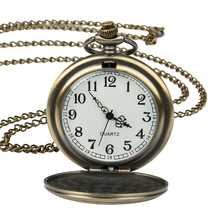 Vintage Bronze Doctor who Quartz Pocket Watch Fashion Who Style Best Gift Time Lord Necklace Pendant toy new arrival hot uk tv doctor who theme series fashion quartz pocket watch chain necklace pendant watches dr who fans gift 2017