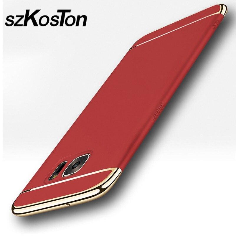 Lyx för Samsung S7 fodral Samsung Galaxy S7 Edge fodral hårt - Reservdelar och tillbehör för mobiltelefoner - Foto 5