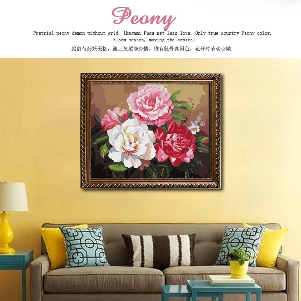 Aliexpress.com : Buy Framed Painting By Numbers DIY Digital Oil ...