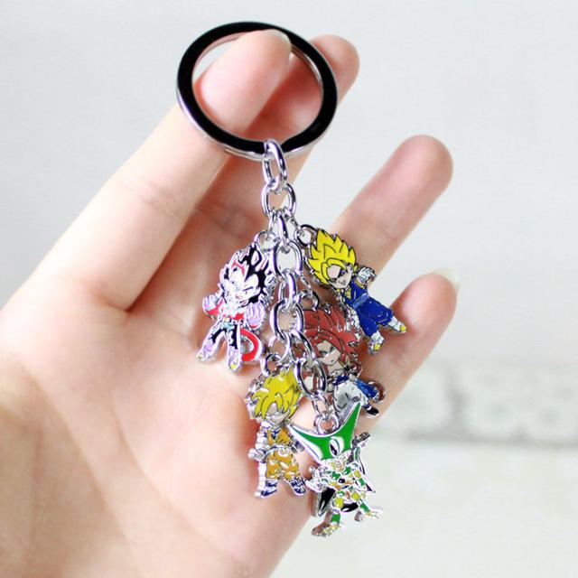 Dragon Ball Z Cute Keychain