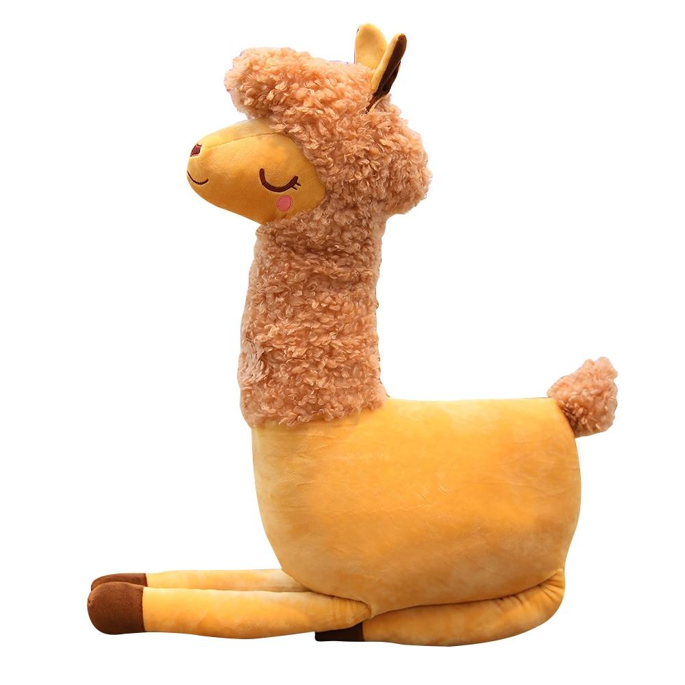 Camel Plush Toy Dolls Simulation Alpaca Pillow Cute Doll Children's Birthday Gift To Girlfriend