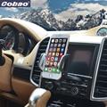 360 giratoria ajustable cobao teléfono holder ranura de cd del coche reproductor de cd de coche universal soporte de smartphone para iphone samsung