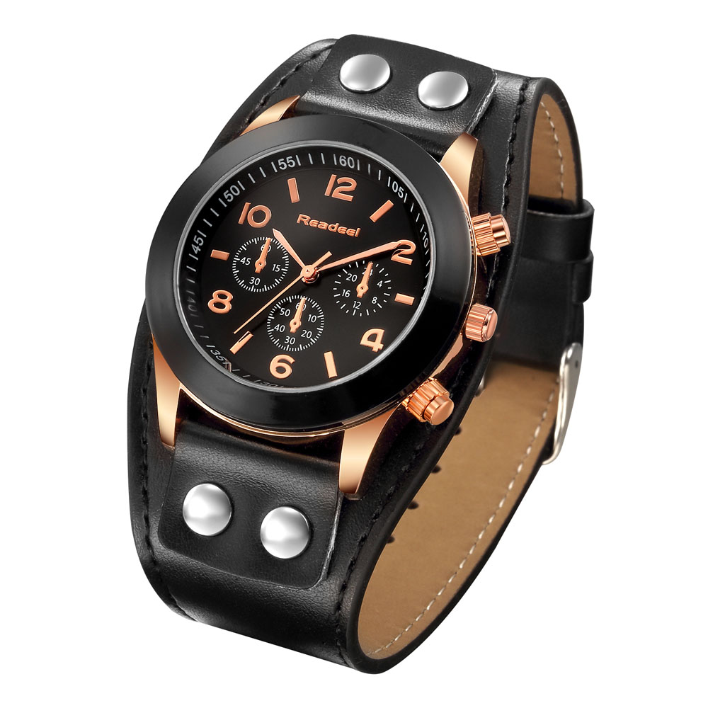 Readeel Luxury Watches Women Rose Gold Casual Ladies Quartz-Watch Dress PU Leather Watch Women Clock Relojes Mujer Montre Femme popular women watches brand luxury leather reloj mujer rose gold clock ladies casual quartz watch women dress watch montre femme
