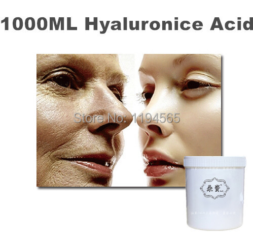 1KG Cosmetics Hyaluronic Acid Moisturizing  Anti-wrinkle Cream 1000g Anti-Aging Firming Face Care Beauty Equipment Wholesale argireline matrixyl 3000 peptide cream hyaluronic acid ha wrinkle collagen firm anti aging skin care equipment free shipping
