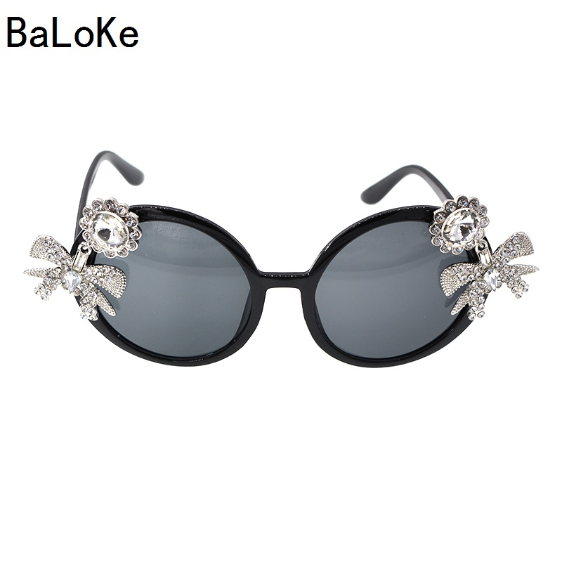 New Baroque European Style Brand Designer Ladies Tiger Head Carved Sunglasses Exaggerated Party Sun Glasses Women Eyewear