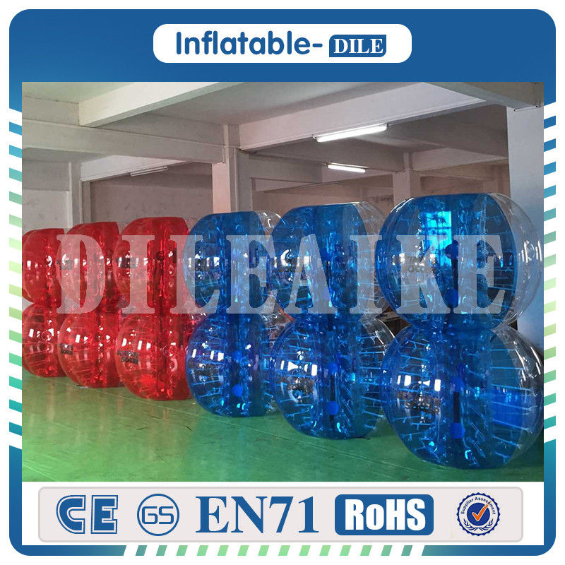 High Quality 0.8mm PVC 1.2m Air Football Zorb Ball Inflatable Bubble Soccer Ball Bumper Anti Stress Ball Bubble Football