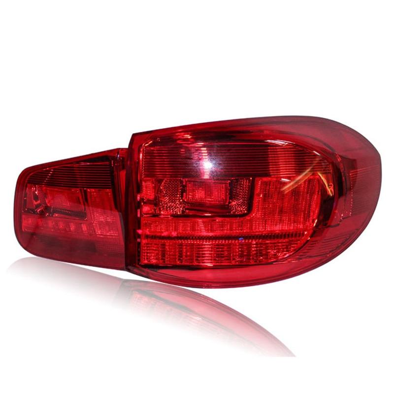 Ownsun светодиодные ДХО+тормозные огни+фонари заднего хода+singnal поворота автомобиля задние фонари задние фонари для Фольксваген Tiguan 2009-2012
